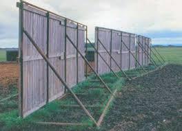 Portable Windbreak Fences Cattle Government Of Saskatchewan Livestock Shelter Windbreaks Cattle