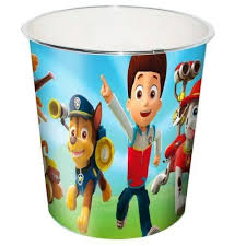 Kids Room Wastebaskets Nickelodeon Paw Patrol Trash Can Wastebucket Bin Check Out The Image By Visiting Paw Patrol Nickelodeon Paw Patrol Kid Room Decor