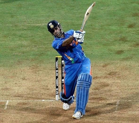 Image result for world cup 2011 dhoni six""