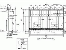 Temporary Fenced Entrance Dwg Detail For Autocad Designs Cad