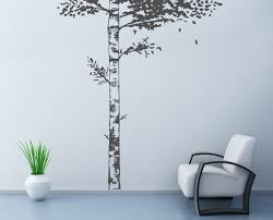 Realistic Birch Tree Wall Decal Wall Stickers For Bedrooms Etsy
