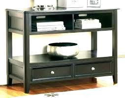 thin end table living room