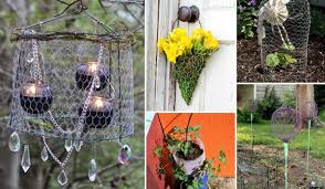 Creative Ideas Adding Chicken Wire Projects To Your Garden Amazing Diy Interior Home Design