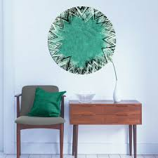 My Wonderful Walls Turquoise Geometry Wall Decal Wayfair