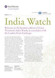India Watch - Issue 29 (July 2015)