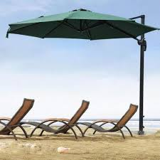 outdoor patio hanging offset umbrella