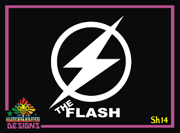 The Flash Vinyl Decal