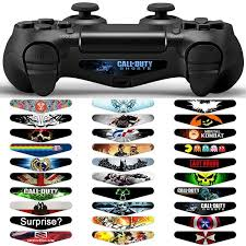 2020 Led Light Bar Cover Decal Skin Sticker For Playstation 4 Ps4 Slim Pro Controller Dhl Fedex Ems From Flashpurchase 3 81 Dhgate Com