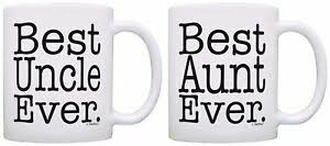 uncle ever 2 pack gift coffee mugs