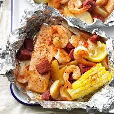 Cajun Boil on the Grill Recipe