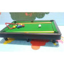 Trò chơi mô hình bàn bida dành cho bé trai và gái có chân bàn