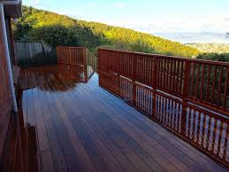 Should I Stain My New Deck Landscaping Design Wellington Scape Goats