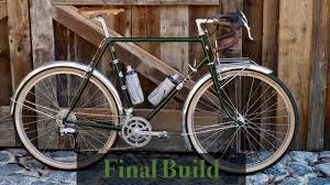 custom steel bicycle all road bike the