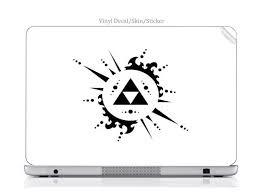 Laptop Vinyl Decal Sticker Skin Print Legend Of Zelda Triforce Art Fits Travelmate 8200 Newegg Com