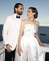 charlotte casiraghi s wedding outfit
