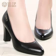 shoes women black high heels