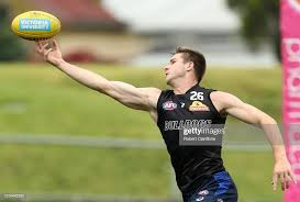 Billy Gowers of the Bulldogs looks to get the ball during the Western...  News Photo - Getty Images