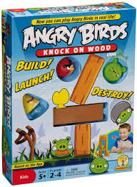 Amazon.com: Angry Birds: Knock On Wood Game: Toys & Games