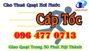 Cho thuê quạt hơi nước tại Hà nội - cho thuê quạt điều hòa giá rẻ - Hà Nội  - Quận Long Biên - Dịch vụ gia đình - VnExpress Rao Vặt