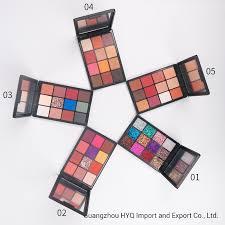china 5 models matte eyeshadow palette