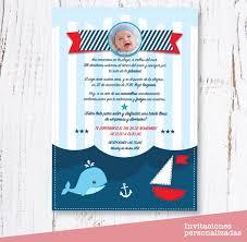 Invitaciones Nautica Cumpleanos Digital 125 00 En Mercado Libre
