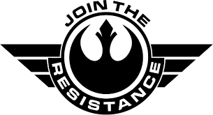 Star Wars Join The Resistance Badge Vinyl Car Window And Laptop Decal Sticker Star Wars Stickers Star Wars Stencil Star Wars Decal