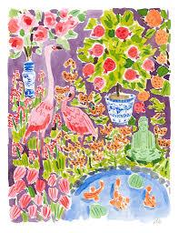 caitlin mcgauley at tiger flower studio