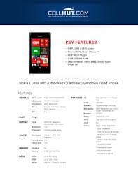 Nokia Lumia 505 Windows GSM Phone Price ...