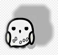 Hewig Sticker Hedwig Cartoon Clipart 3950736 Pinclipart