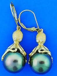 denny wong octopus tahitian pearl