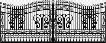 Fence Black Iron Frame Blue Electronics Png Pngwing