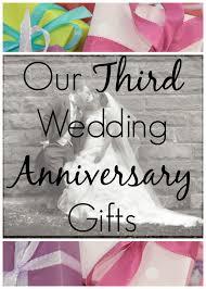 3rd wedding anniversary the