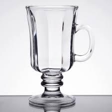 libbey 5294 8 25 oz irish glass coffee