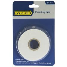 syneco 2m x 18mm mounting tape