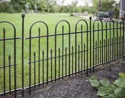 Enchanted Garden 2 6 X 3 Triple Arch Fence Panel Black Enchanted Garden Fence Panels Garden