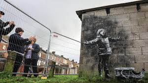 Wall To Wall Protection New Banksy Mural Put Under 24 Hour Guard The National