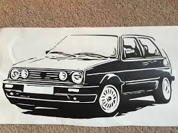 Fits Any Vw 195mm Long Car Decal Sticker For Volkswagen Vw Retro Archives Midweek Com