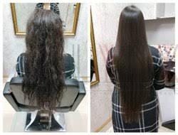 hair rebonding hair straightening