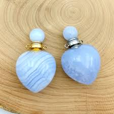 natural gems stone perfume bottle
