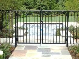Decorative Wrought Iron Double Pool Gate Wrought Iron Pool Fence Gates And Railings Wrought Iron Fences