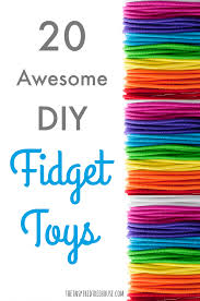20 awesome diy fidget toys the