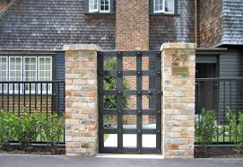 Stunning Bricks And Stones For Gates And Fences Ideas Homescorner Com