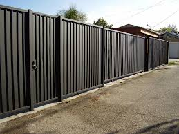 How To Paint Solid Metal Fence Panels Home Ideas Utility Collective In 2020 Metal Fence Panels Fence Panels Metal Fence