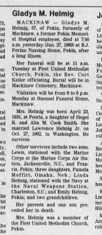 Gladys Marietta Smith Helmig obituary - Newspapers.com