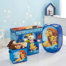 Lion King Whole Room Solution Storage Set Trunk 2 Pack Cubes Pop Up Hamper Walmart Com Walmart Com