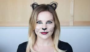 how to do cat face makeup halloween