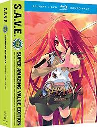 Amazon.com: Shakugan No Shana - Season 1 S.A.V.E. (Blu-ray/DVD ...