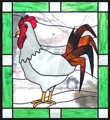 animals in stained glass