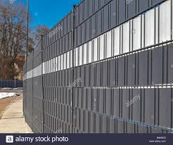 Screen Wall Made Of Mesh Fence And Fabric Tape Stock Photo Alamy