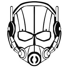 Avengers Ant Man Decal Sticker